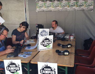 RADIO CAMPUS AMIENS OUVRE SES PORTES LE 14 JUIN 2017 !