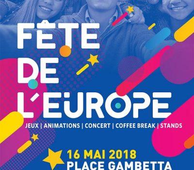 FÊTE DE L'EUROPE / MERCREDI 16 MAI 2018